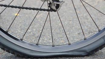 Crevaison de pneu