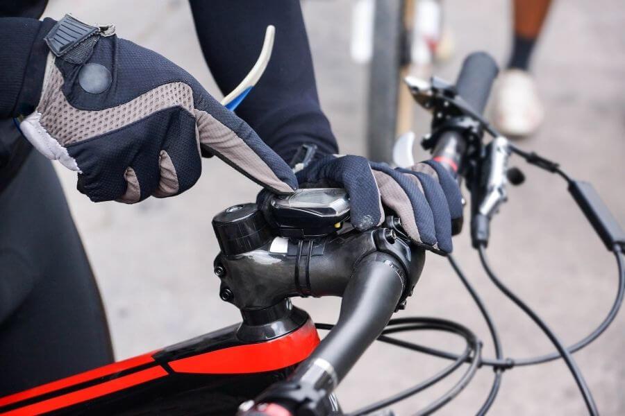 Cyclocompteur GPS pour vélo