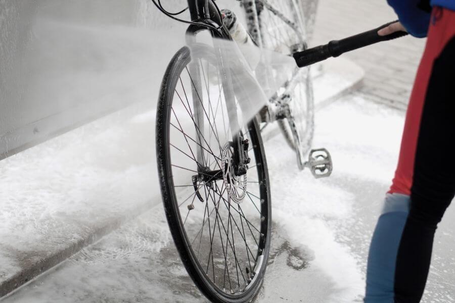 Lavage de vélo