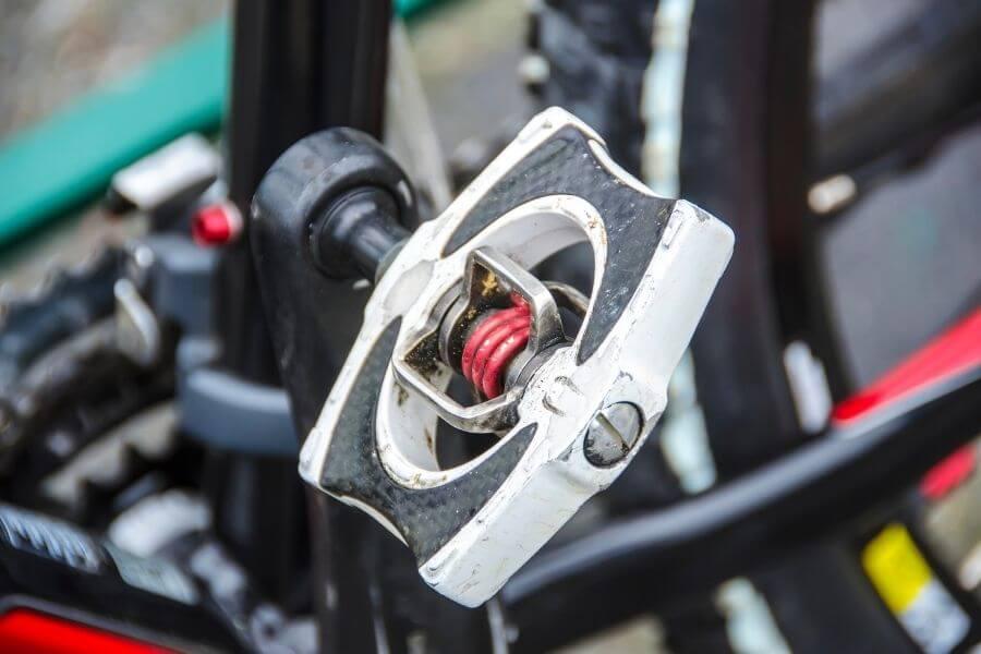 Pédale plate de vélo