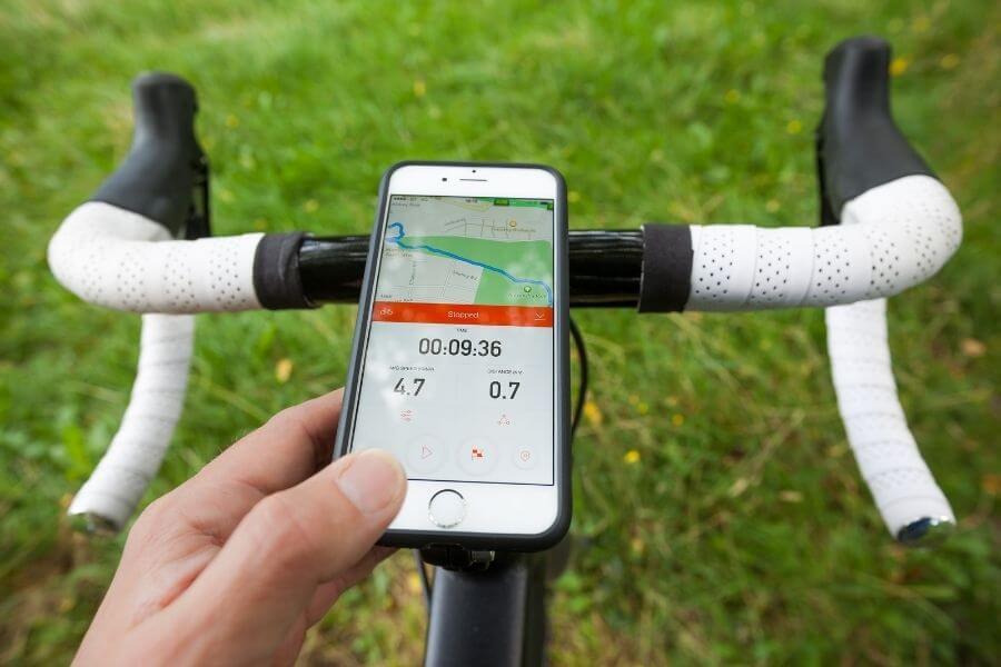 Accroche téléphone ou GPS pour vélo