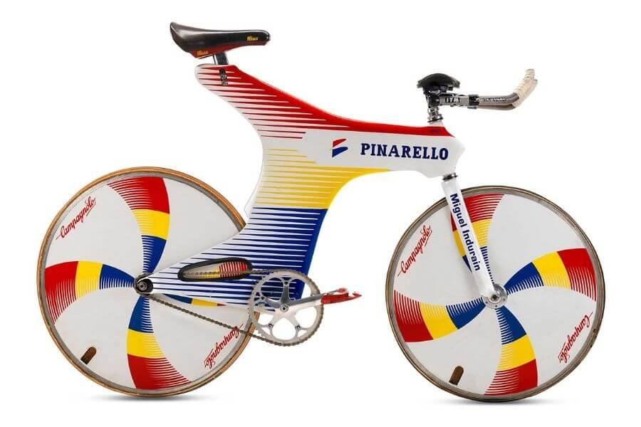 L'Espada, le célèbre vélo de contre-la-montre que Pinarello a fabriqué sur mesure pour Miguel Indurain