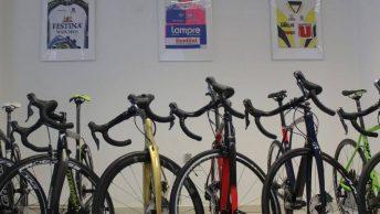 Exposition de vélos